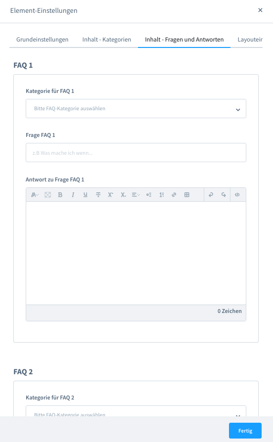 Shopware 6 FAQ Manager Plugin